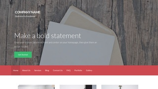Activation Cards and Stationery WordPress Theme
