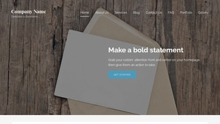 Lyrical Cards and Stationery WordPress Theme