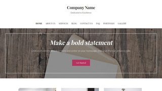 Uptown Style Cards and Stationery WordPress Theme