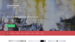 Activation Steakhouse WordPress Theme
