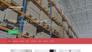 Activation Storage and Warehouse WordPress Theme