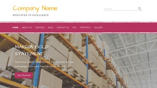 Scribbles Storage and Warehouse WordPress Theme