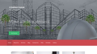 Activation Structural Engineer WordPress Theme
