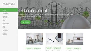 Escapade Structural Engineer WordPress Theme