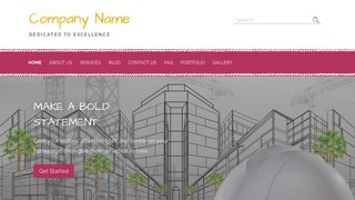 Scribbles Structural Engineer WordPress Theme