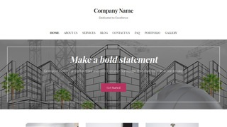 Uptown Style Structural Engineer WordPress Theme