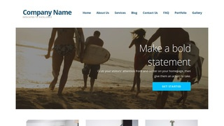 Ascension Surfing WordPress Theme
