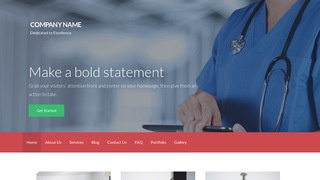 Activation Surgical Center WordPress Theme