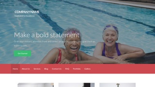 Activation Swimming Pool WordPress Theme