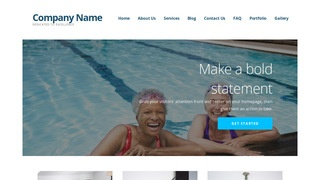 Ascension Swimming Pool WordPress Theme