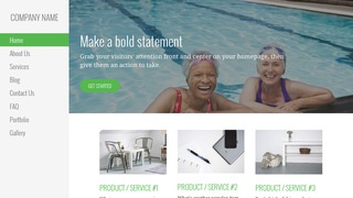 Escapade Swimming Pool WordPress Theme