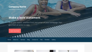 Primer Swimming Pool WordPress Theme