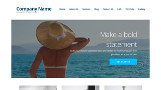 Ascension Swimwear WordPress Theme
