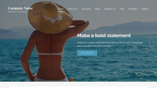 Lyrical Swimwear WordPress Theme