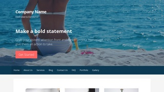 Primer Swimwear WordPress Theme