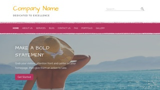Scribbles Swimwear WordPress Theme