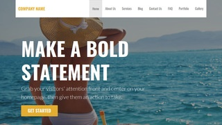 Stout Swimwear WordPress Theme