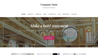 Uptown Style Synagogue WordPress Theme