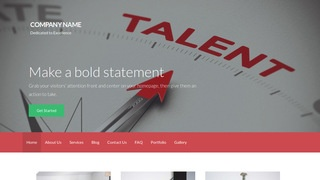 Activation Talent Agency WordPress Theme