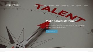 Lyrical Talent Agency WordPress Theme