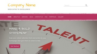 Scribbles Talent Agency WordPress Theme