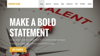 Stout Talent Agency WordPress Theme