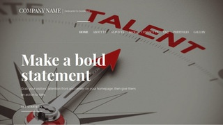 Velux Talent Agency WordPress Theme