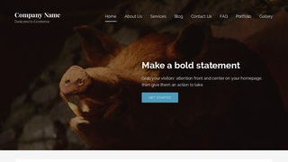 Lyrical Taxidermist WordPress Theme