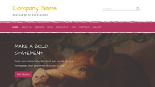 Scribbles Taxidermist WordPress Theme
