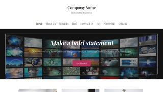 Uptown Style Television Station WordPress Theme