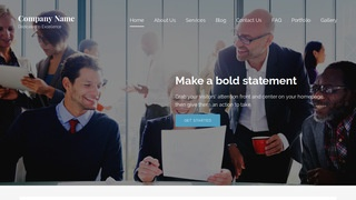 Lyrical Temp Agency WordPress Theme