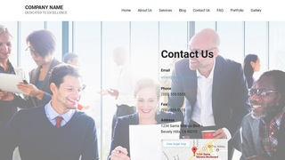 Mins Temp Agency WordPress Theme