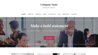 Uptown Style Temp Agency WordPress Theme