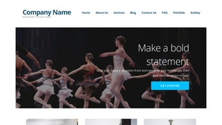 Ascension Performing Arts WordPress Theme