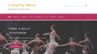 Scribbles Performing Arts WordPress Theme