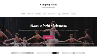 Uptown Style Performing Arts WordPress Theme