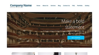 Ascension Theater and Performance Venue WordPress Theme