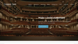 Lyrical Theater and Performance Venue WordPress Theme