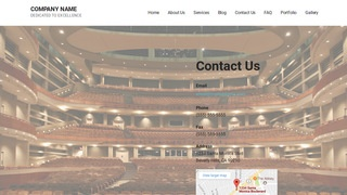 Mins Theater and Performance Venue WordPress Theme