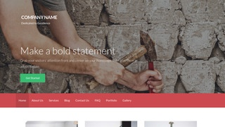 Activation Tile Contractor WordPress Theme