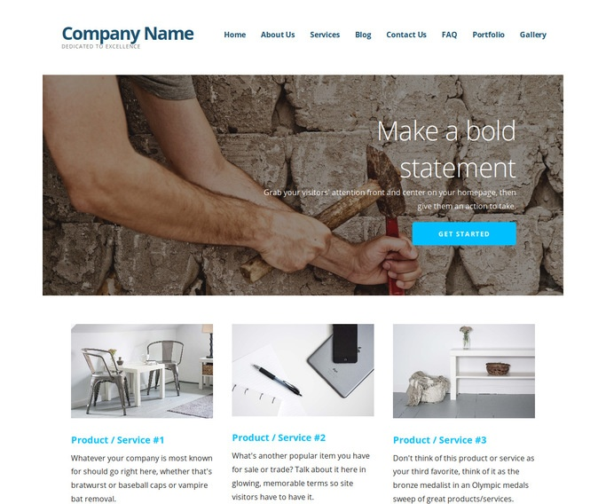 Ascension Tile Contractor WordPress Theme