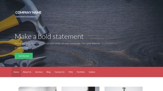 Activation Tool and Die WordPress Theme