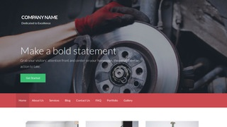 Activation Trailer Parts and Accessories WordPress Theme