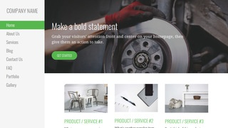 Escapade Trailer Parts and Accessories WordPress Theme