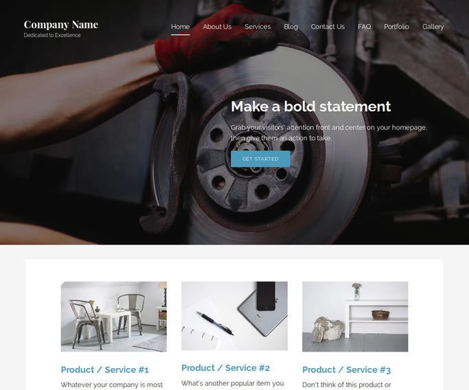 Lyrical Trailer Parts and Accessories WordPress Theme