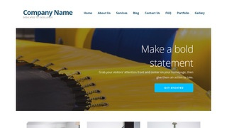 Ascension Trampolines WordPress Theme