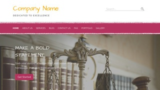 Scribbles Trial Attorney WordPress Theme