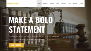 Stout Trial Attorney WordPress Theme