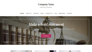 Uptown Style Trial Attorney WordPress Theme