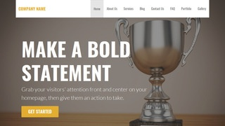 Stout Trophies and Awards Shop WordPress Theme
